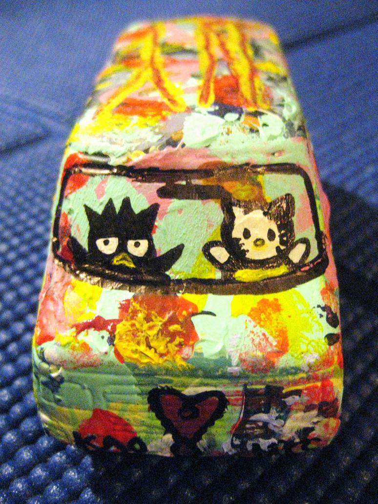 Art Van Hello Kitty Badtz Maru Pop 2008 by beatrixxx