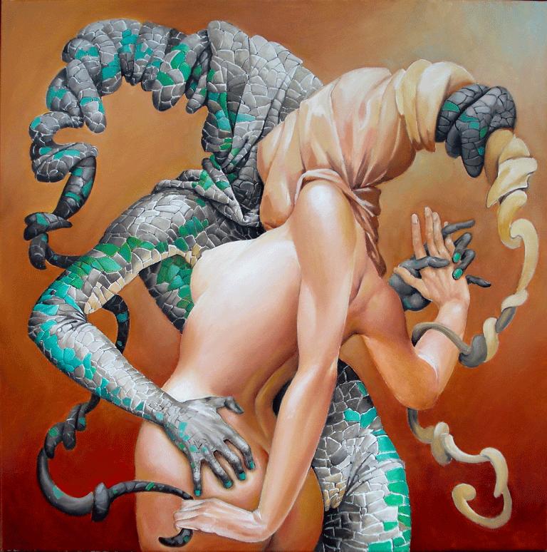 Lizard Tango by kowelvain