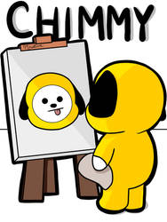 Chimmy Painting Chimmy by marietiva