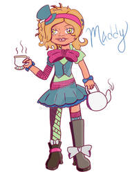 Maddie Hatter | Monster High Fan Character