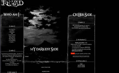 My blog interface by Reyad