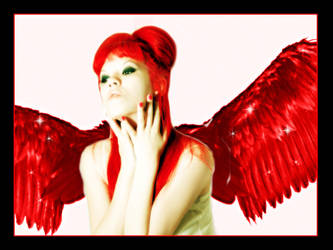 A red angel