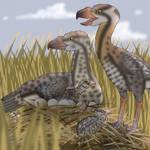 Proud Pliocene Phorusrhacid Parents