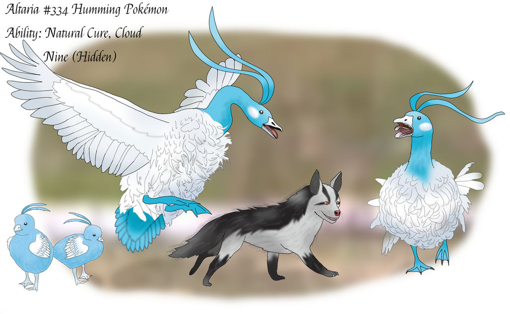 Somewhat Realistic Altaria