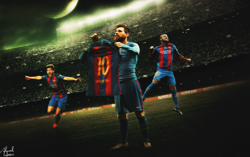 FC Barcelona Wallpaper 2017 By AhmedGFX DZ