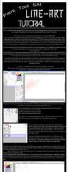 Paint Tool SAI: Line Tutorial by TheForsakenPhoenix