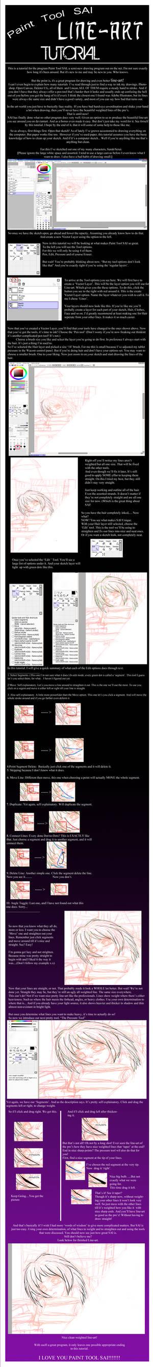 Paint Tool SAI: Line Tutorial