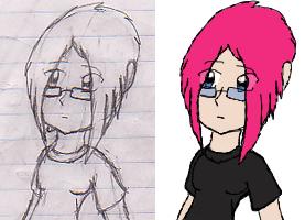 OLD: 2006 Online Persona Hikaru Avatar by TheRebelPhoenix