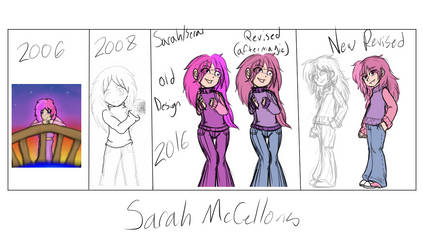 Character Path of Improvement: Sarah McCellons by TheBetrayedPhoenix