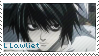 L Lawliet Stamp by Anime-Stamps