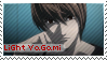 Light Yagami Stamp by Anime-Stamps