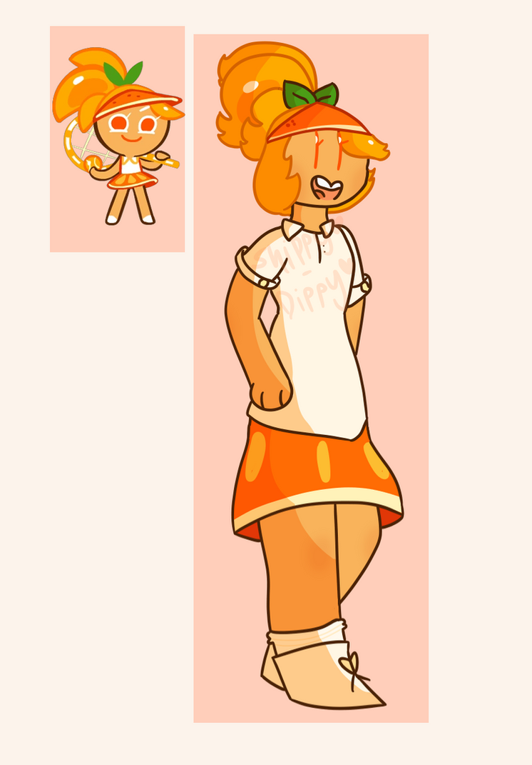 Look Its Orange Cookie by Shippy-Dippy