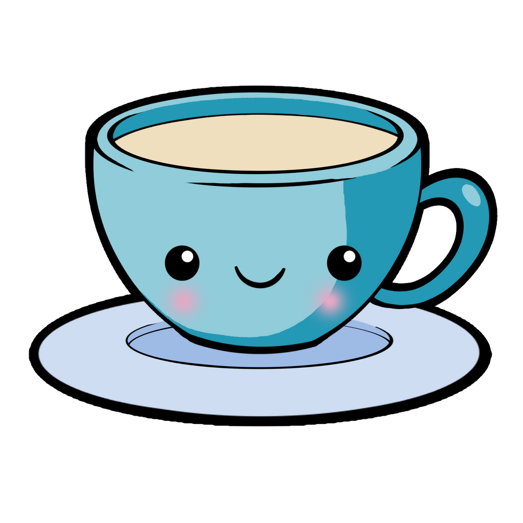 Hot Coffee Cup >> Kawaii Tea by SamanthaBranch on DeviantArt
