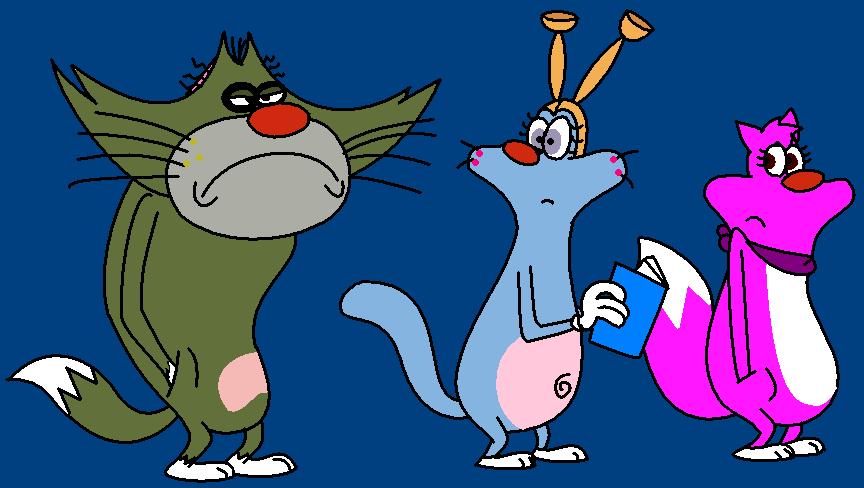 Enya,Jack e Monica by Kitshime-SP on DeviantArt  Enya,Jack e Mon...