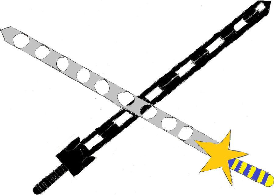 Oathkeeper and Oblivion swords by gravekenshin on DeviantArt