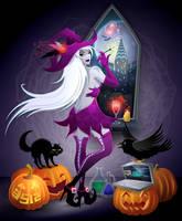 Modern witch by feoris