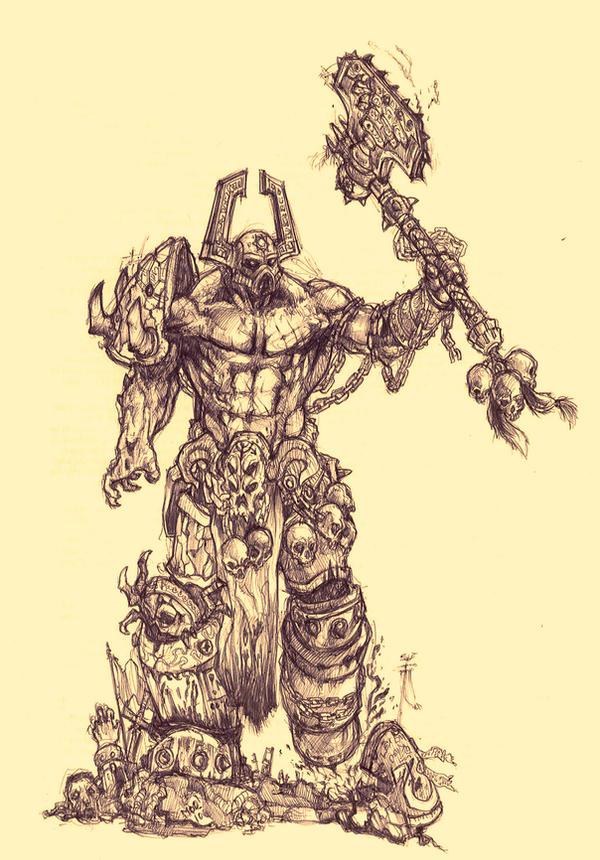 Kharn The Betrayer by moorkasaur