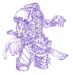 Some stuff in terminator armor by moorkasaur