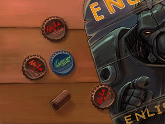 some fallout tribute by moorkasaur