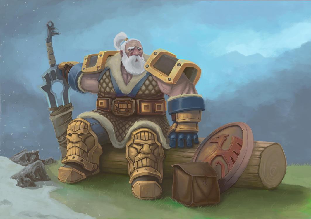 Old raid leader by moorkasaur