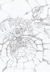 Undead tank by moorkasaur