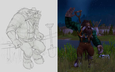 Druid Farmer