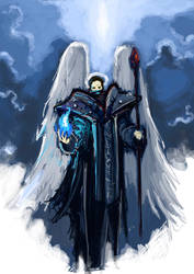 Angel-mage by moorkasaur