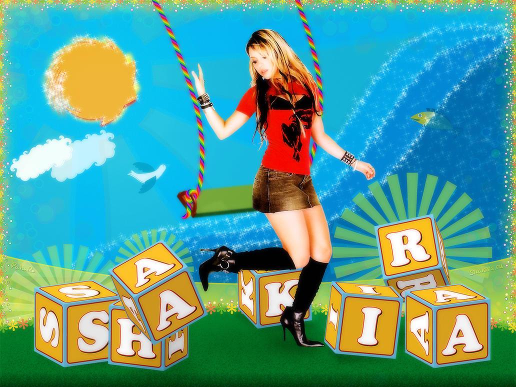 Shakira wallpaper by pahafo