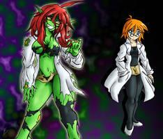 Commission: Dr. Charlotte Jekyll x Cheryl Hyde by ViroVeteruscy
