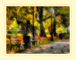 Samobor in autumn - HDR by Sedma
