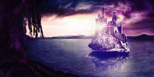 Matte Painting: Rising from the Depths