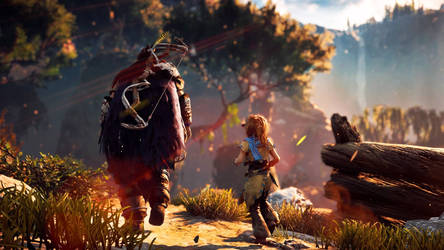 Rost and Little Aloy by ph2gaming