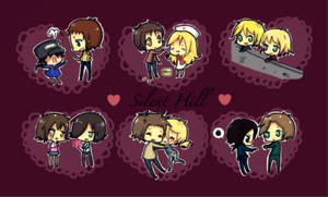 SH: silent hill couples :3