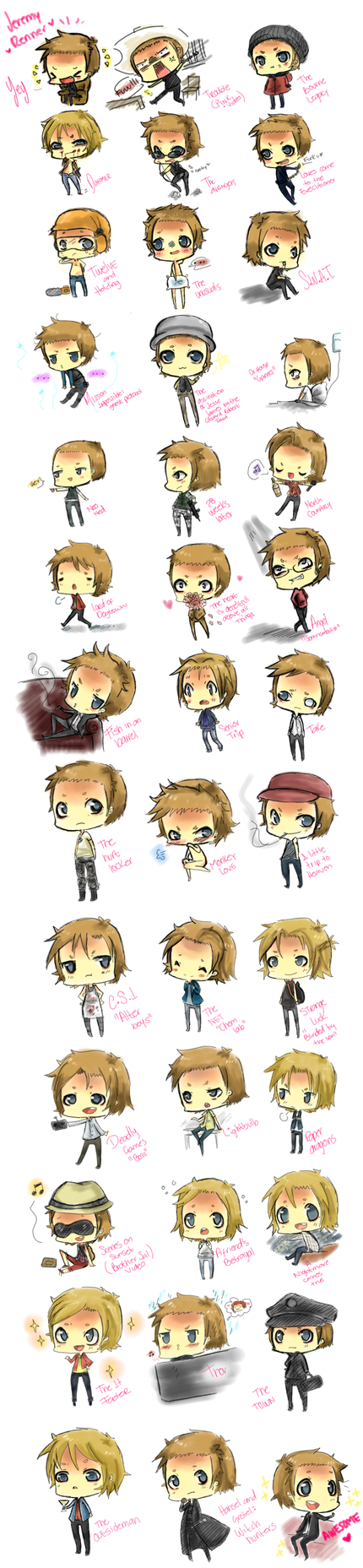 jeremy renner TTwTT colors :D by ritsuneko69