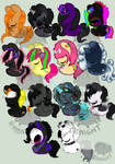.:All of my Characters:.