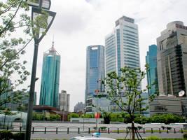 Nanjing Xilu by day