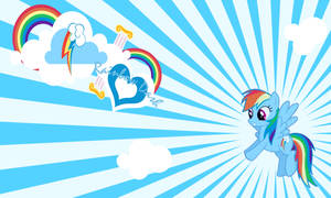 Rainbow Dash Wall