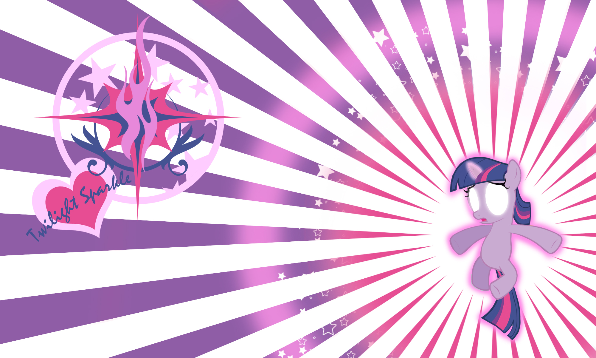 Twilight Sparkle Filly Wall