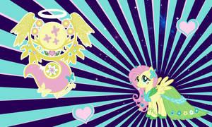 Fluttershy Gala Wall