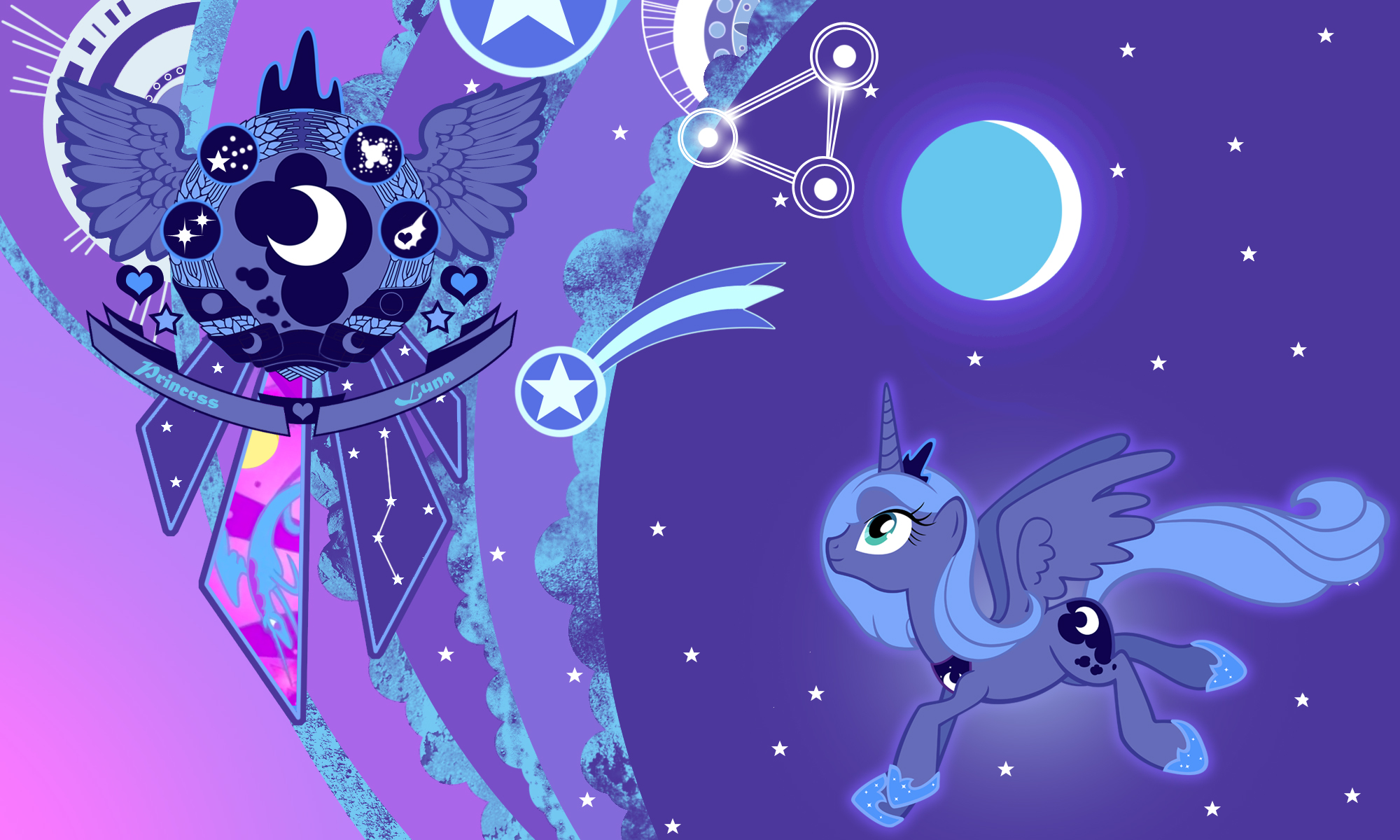 Luna New Wall
