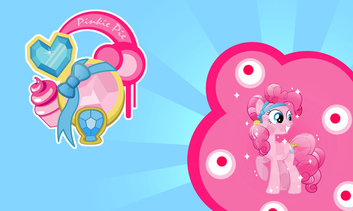Pinkie Pie Crystal Wall by Evilarticfox