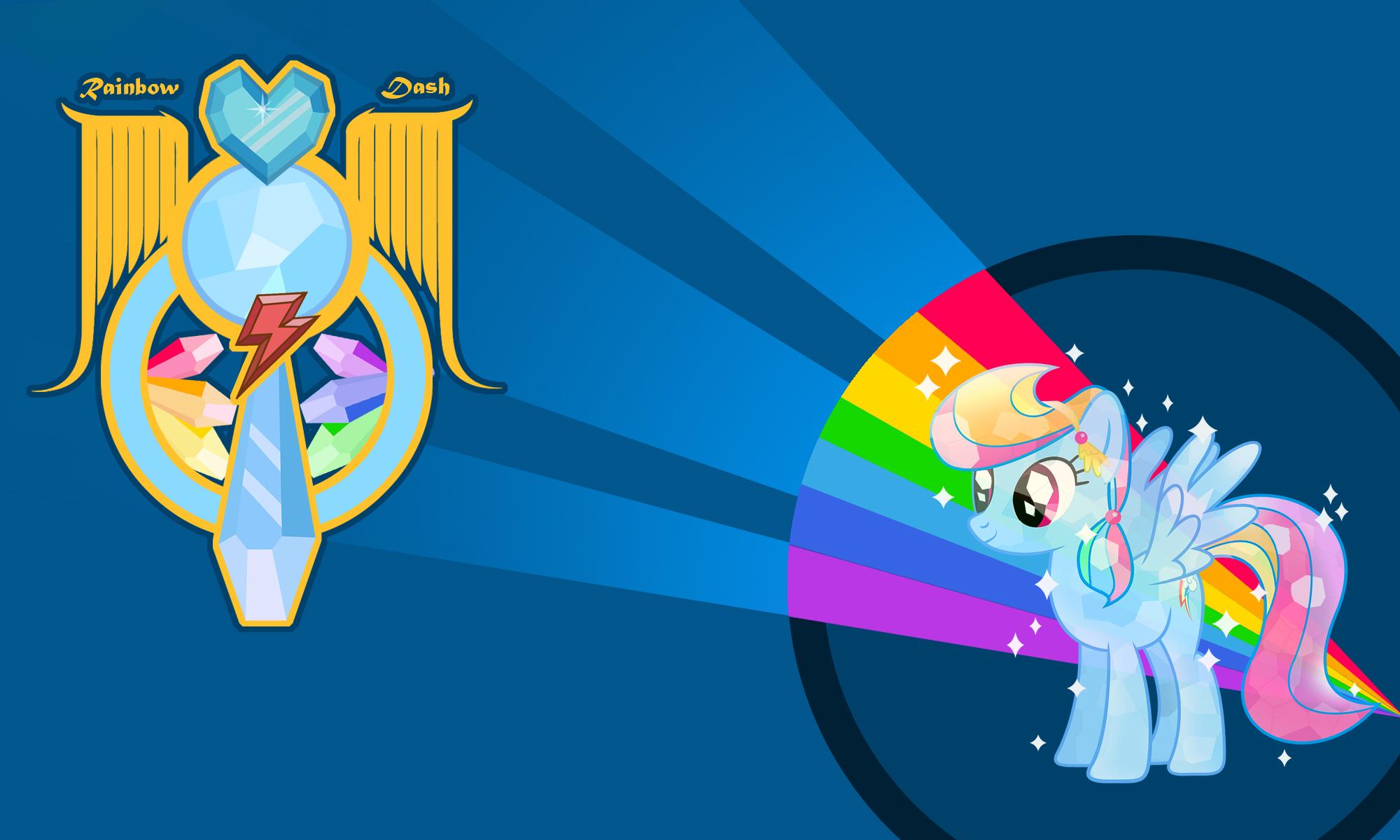 Rainbow Dash Crystal Wall By Yo Cosplay On Deviantart
