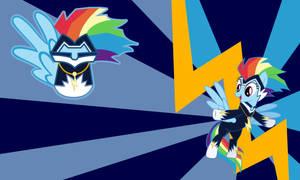 Rainbow Dash - The Zapp Wall