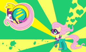 Fluttershy - Saddle Rager wall