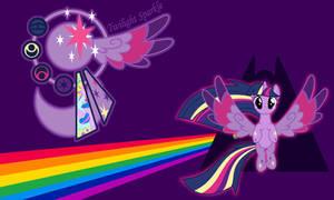 Twilight Sparkle Rainbow Wall