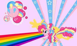 Pinkie Pie Rainbow Wall