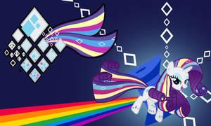 Rarity Rainbow Wall