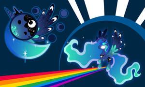 Luna Rainbow Wall