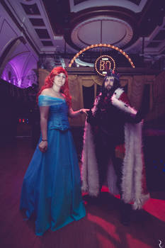 Cosplay Ball Spain - Ariel and King Sombra