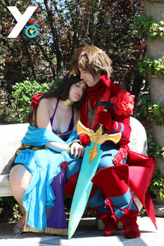 Bravely Default Cosplay - Tiz and Agnes 3